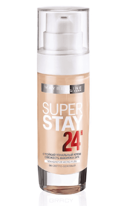 Maybelline, Тональный крем SuperStay 24ч, 30 мл (8 оттенков) 06 светло-бежевыйДл лица<br><br>
