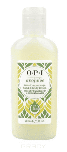 OPI, Лосьон для рук Лимон Avojuice, 600 мл opi avojuice vanilla lavender hand