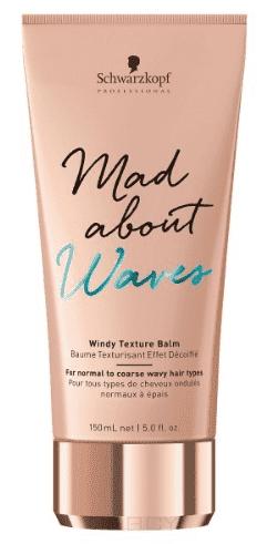 Schwarzkopf Professional, Текстурирующий бальзам для волнистых волос Mad About Waves Windy Texture Balm, 150 мл цена