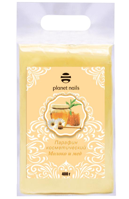 Planet Nails, Парафин косметический Молоко и мед, 400 грПарафин<br><br>