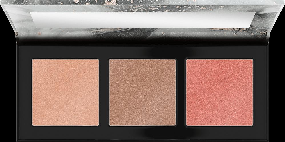 Купить Catrice, Палетка для макияжа: румяна и хайлайтеры Luminice Highlight & Blush Glow Palette, 10 Rose Vibes Only