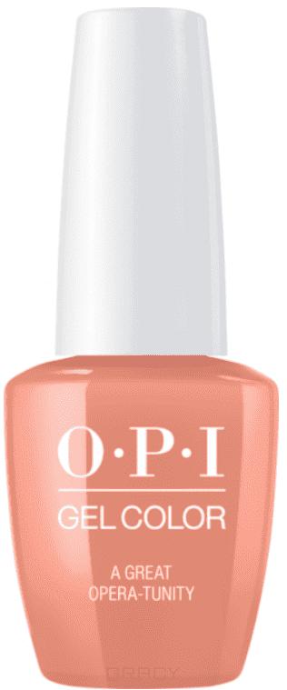 OPI, Гель-лак GelColor, 15 мл (95 цветов) A Great Opera-Tunity opi gelcolor gimme a lido kissl гель лак 15 мл