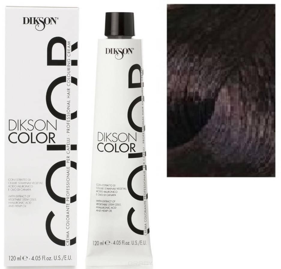Купить Dikson, Краска для волос Color Extra Premium, 120 мл (44 тона) 4N Каштановый