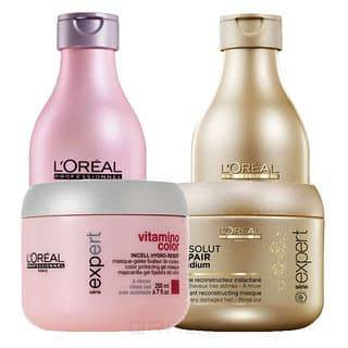 LOreal Professionnel, Набор Expert Bom Backbar Vitamino Color + Absolut Repair Lipidum, 2 х 1.5 л. и 2 х 500 млНаборы для ухода<br><br>