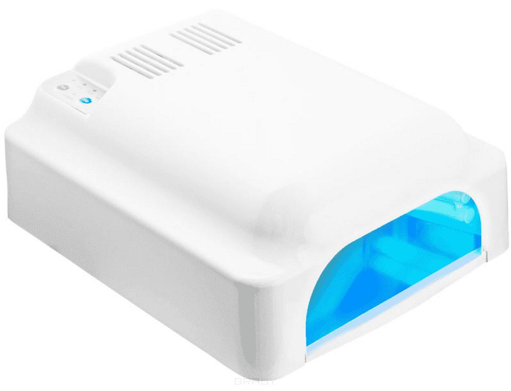 Planet Nails, УФ лампа 36W ASN Profi белая с вентиляторомУФ лампы 36 W<br><br>