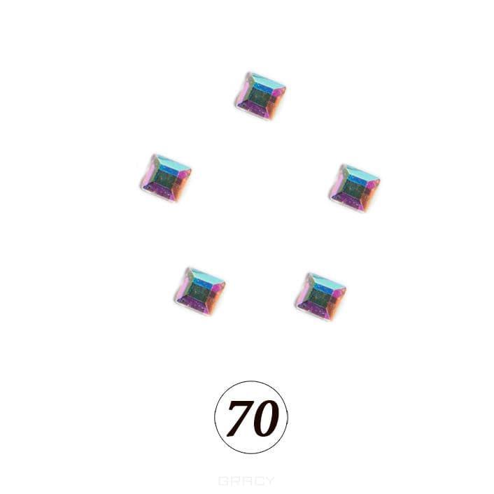 Купить Planet Nails, Цветные фигурные стразы в ассортименте (76 видов), 5 шт/уп Планет Нейлс №70