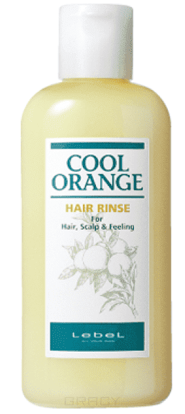 Lebel, Бальзам-ополаскиватель Cool Orange Hair Rinse, 200 млCool Orange Холодный апельсин - уход за волосами и кожей головы<br><br>