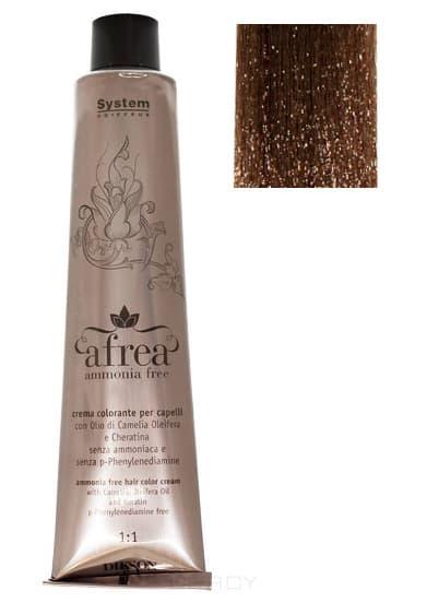 Dikson, Стойкий краситель для волос без аммиака Afrea ammonia free, 120 мл (42 оттенка) 190-05 AFREA ammonia free 6N 6,0 тумно-русыйОкрашивание<br><br>