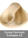 Nirvel, Краска для волос ArtX профессиональная (палитра 129 цветов), 60 мл 12 Суперосветлитель натуральный фото