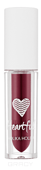 Holika Holika, Вельветовая помада-мусс Хартфул Флюид Heartful Fluid Mousse, 2,2 мл (6 тонов) Тон RD09, вишневый мусс тонирующий тон 1 sand soft touch matt mousse essence