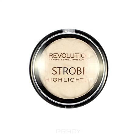 MakeUp Revolution, Хайлайтер для лица Strobe Highlighter, 7.5 гр (6 оттенков) Ever Glow Lights фото