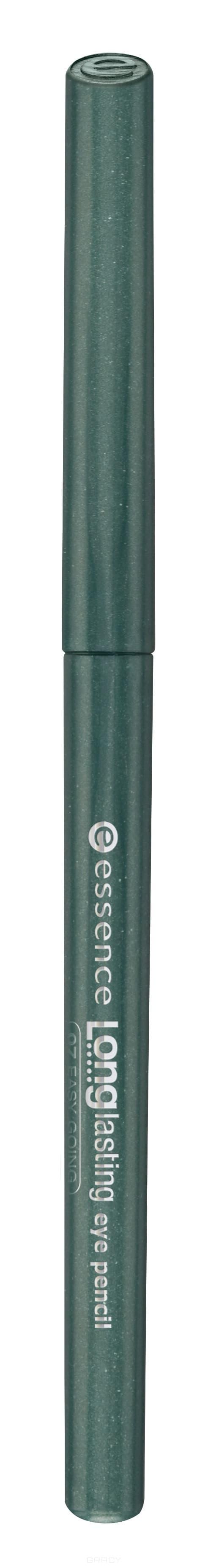 Купить Essence, Карандаш для глаз Long Lasting, 0.28 гр (15 цветов) №12, зеленый
