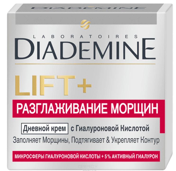 Diademine, Крем для лица Разглаживание морщин Дневной LIFT+, 50 мл diademine дневной крем для лица lift мгновенный эффект антивозрастной 50 мл