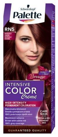 Купить Schwarzkopf Professional, Краска для волос Palette Icc, 50 мл (40 оттенков) RN5 Марсала