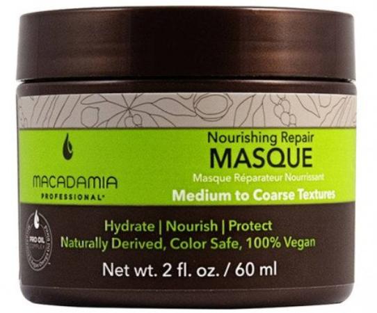 Купить Macadamia Natural Oil, Маска восстанавливающая Nourishing repair masque, 60 мл