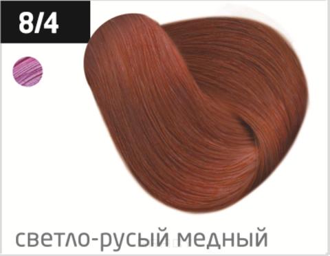 Купить OLLIN Professional, Перманентная стойкая крем-краска с комплексом Vibra Riche Ollin Performance (120 оттенков) 8/4 светло-русый медный