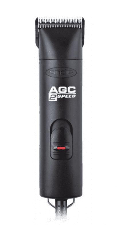 Andis, Профессиональная двухскоростная машинка для стрижки животных (3400об/мин) AGC2 black, 22610