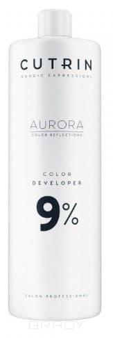 Cutrin, Окислитель для краски Aurora Color Developer (SCC-Reflection) (1,5, 3, 4,5, 6, 9, 12%) Окислитель Aurora Color Developer 9% молочко barex milk developer 9