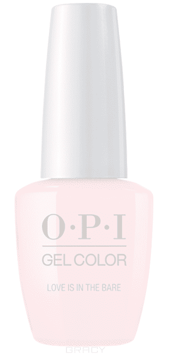OPI, Гель-лак GelColor, 15 мл (95 цветов) Love Is in The Bare
