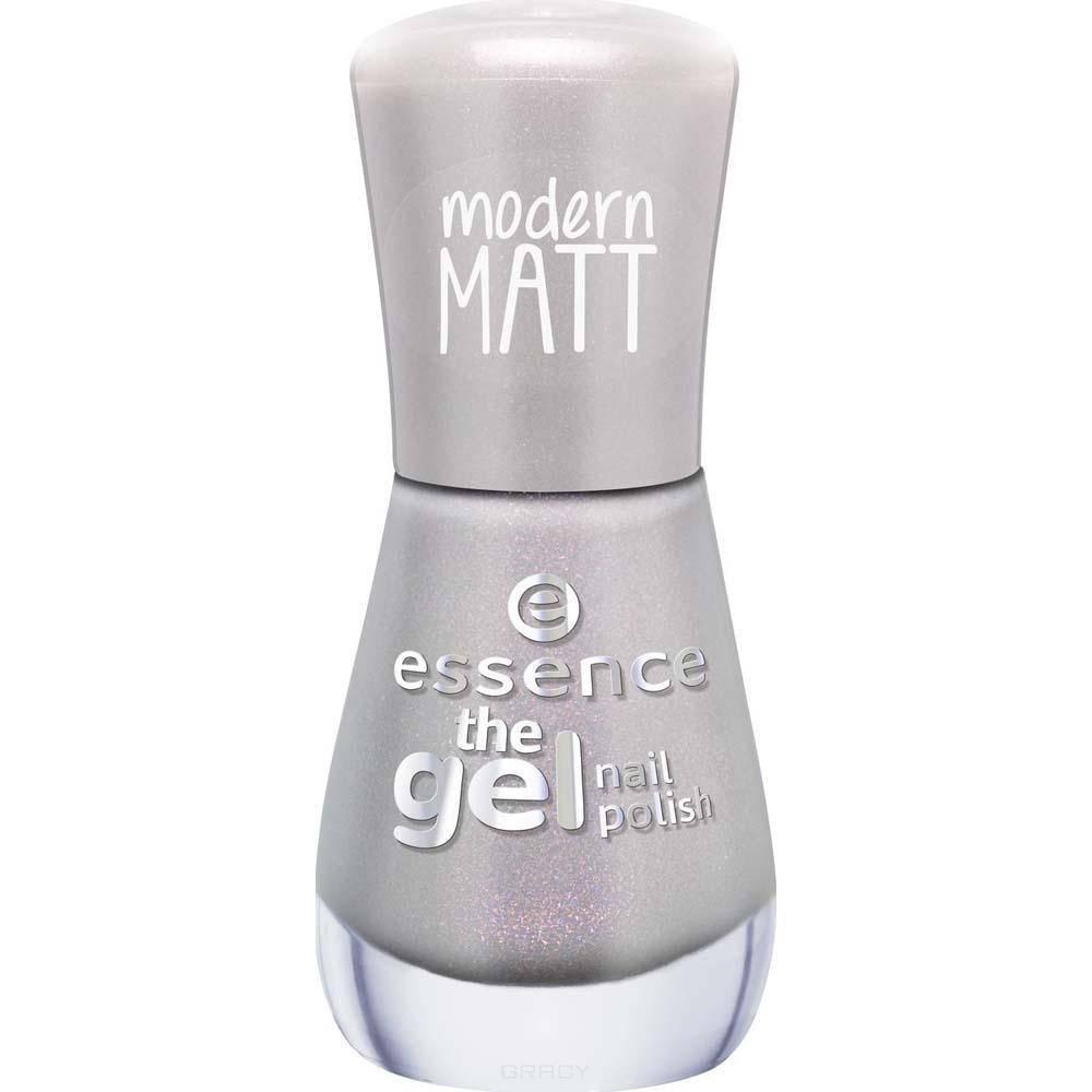 Essence, Лак для ногтей The Gel Nail, 8 мл (34 оттенка) №100, серый essence the gel nail лак для ногтей серо синий тон 51 8 мл