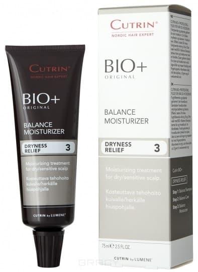Cutrin, Увлажняющий гель-крем Dryness Relief Balance Moisturizer, 75 млCutrin BIO+ решение проблем волос и кожи головы<br><br>