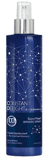 Constant Delight, Двухфазный спрей с экстрактом жемчуга SuperPearl Bi-Phase Spray, 250 мл constant delight спрей с морской солью экстрактом морских водорослей протеинами пшеницы