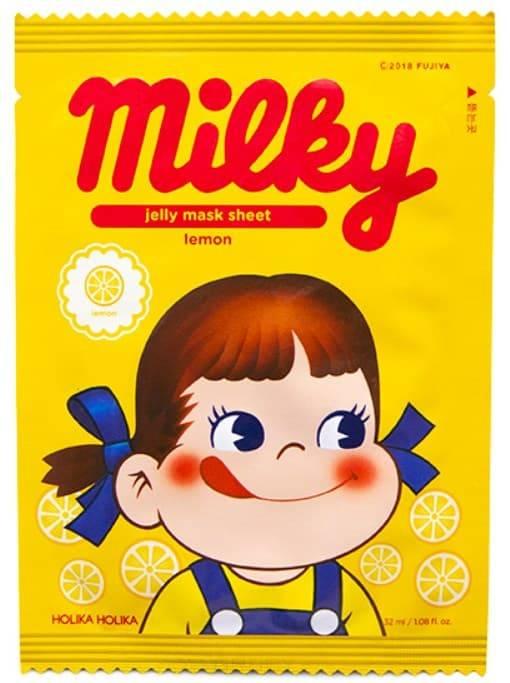 Peko Jjang Jelly Mask Sheet (Lemon) Тонизирующая тканевая маска с лимоном, 32 мл Холика