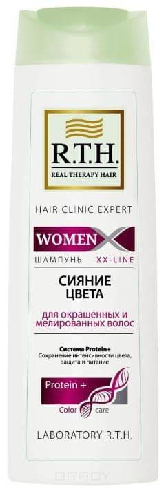 Купить R.T.H., Шампунь Women Сияние цвета , для окрашенных и мелированных волос, 250 мл, 250 мл ГОДЕН ДО 04/21
