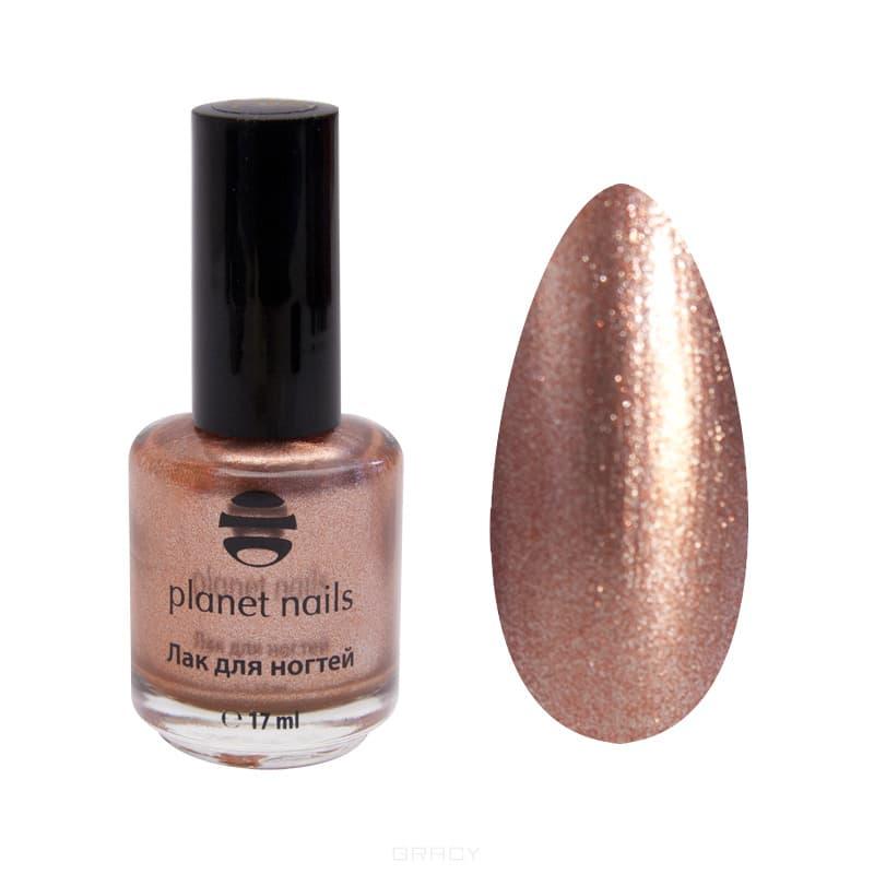 Planet Nails, Металлик лак для ногтей, 17 мл (13 оттенков) Металлик лак для ногтей, 17 мл (13 оттенков)Цветные лаки для ногтей<br><br>