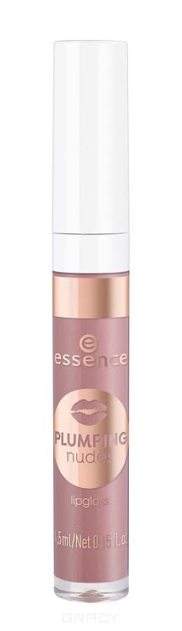 Купить Essence, Блеск для губ Plumping Nudes Lipgloss, 4.5 мл (7 тонов) №03, темно-розовый