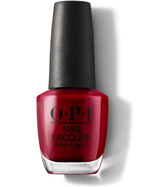 Купить OPI, Лак для ногтей Nail Lacquer, 15 мл (233 цвета) Danke-Shiny Red / Classics