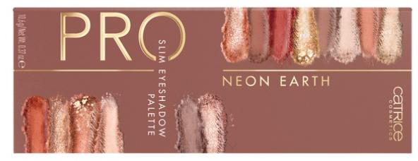Купить Catrice, Палетка теней для век Pro Slim Eyeshadow Palette Neon Earth