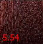 Купить Kaaral, Крем-краска для волос Baco Permament Haircolor, 100 мл (106 оттенков) 5.54 светлый махагоново-медный каштан