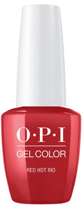 OPI, Гель-лак GelColor, 15 мл (95 цветов) Red Hot Rio rio profi гель лак grey 10 танцующий фонтан
