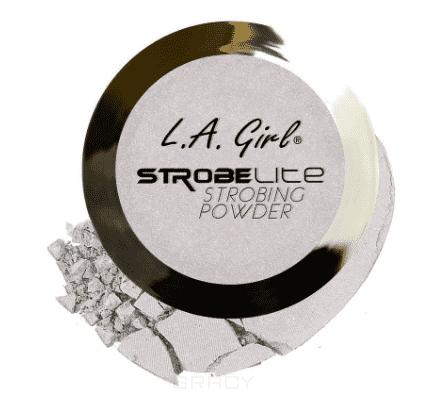 цена L.A. Girl, Пудра для стробинга компактная Strobe Lite Strobing Powder (10 оттенков) тон 120 ватт
