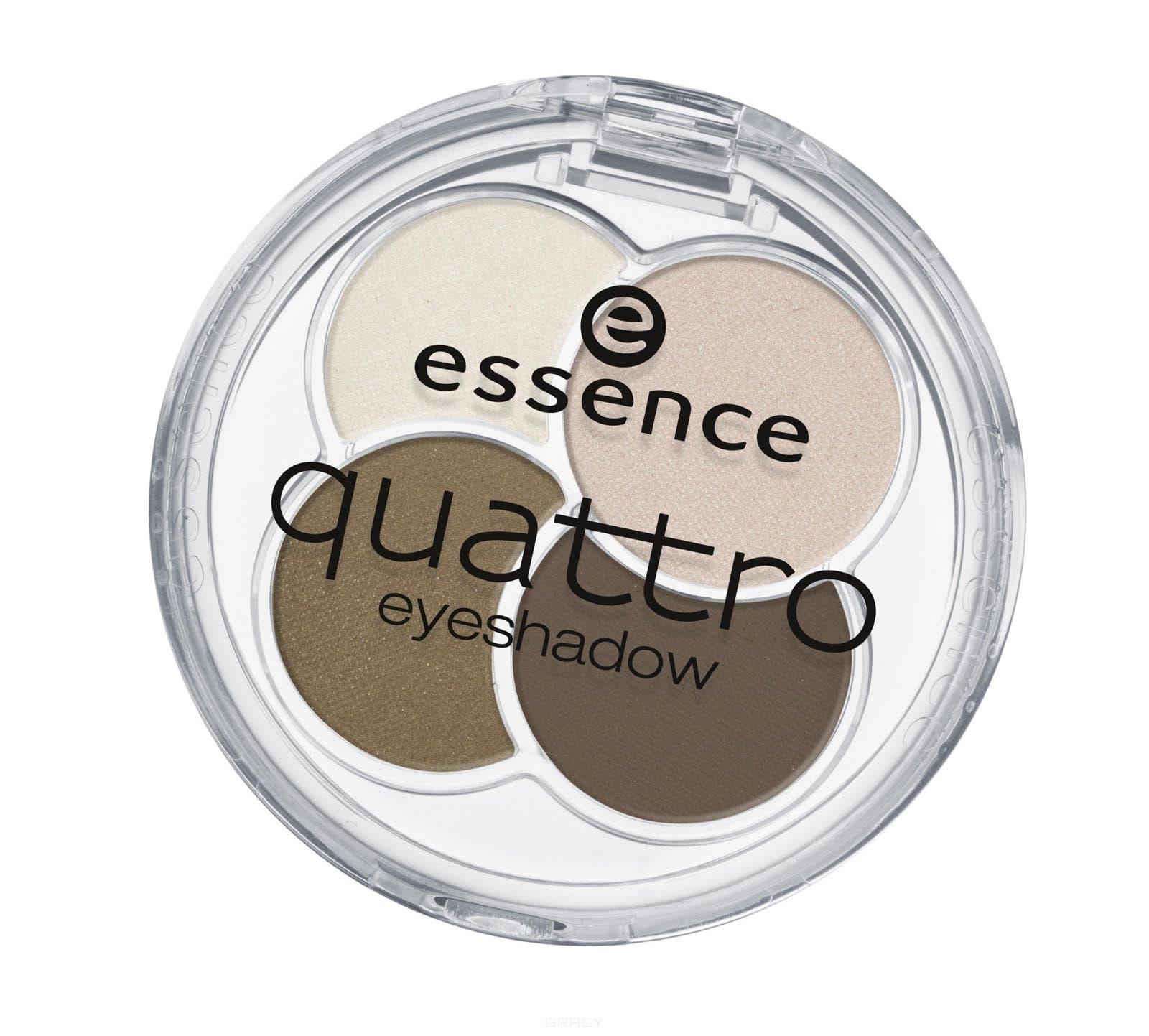 Тени для век Quattro Eyeshadow, 5 грОписание:&#13;<br> &#13;<br> Сочетание четырех восхитительных оттенков позволят создать любой тип макияжа – утонченный дневной или изысканный вечерний. Шелковистая текстура идеально сохраняются в течение всего дня.<br>