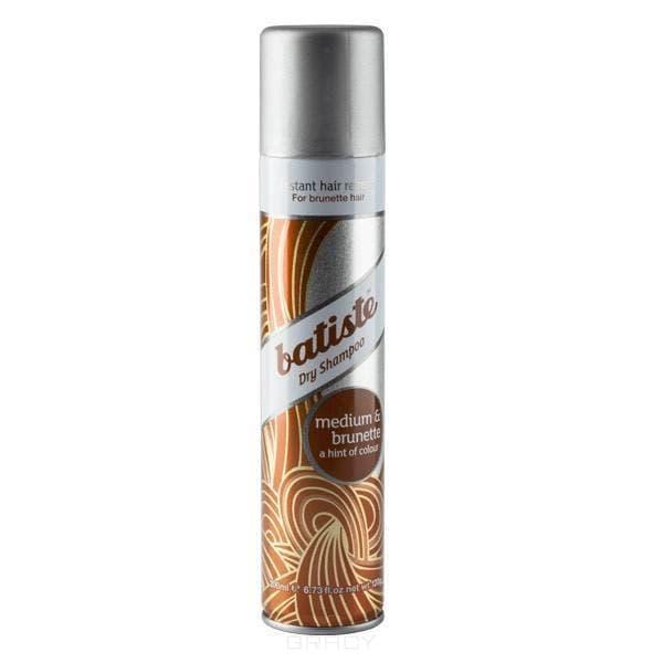 Batiste, Сухой шампунь Medium для каштановых волос, 200мл Батисте шампунь batiste original 200мл сухой аэрозоль