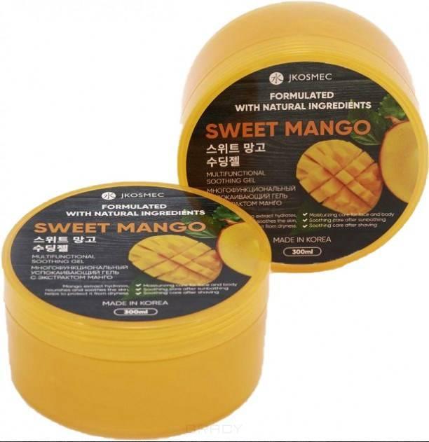 Jkosmec, Многофункциональный успокаивающий гель с экстрактом манго Sweet Mango Multifunctional Soothing Gel, 300 мл