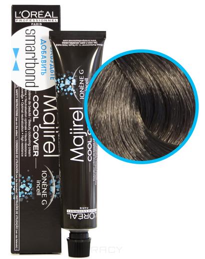 Купить L'Oreal Professionnel, Краска для волос Majirel Cool Cover (13 оттенков) 7.1 Блондин пепельный
