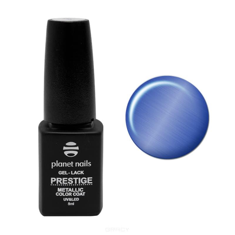Planet Nails, Гель-лак витражный Prestige-Metallic, 8 мл (5 цветов), 8 мл, 103Гель-лаки<br><br>