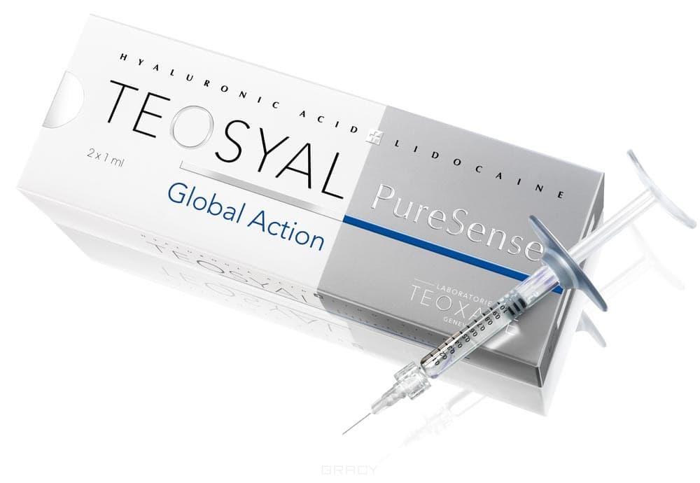 Teosyal, Контурная коррекция с лидокаином 0,3% PureSense Global Action 2 х 1 мл