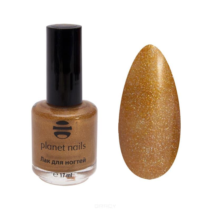 Planet Nails, Голографический лак для ногтей, 17 мл (34 оттенка) Голографический лак для ногтейЦветные лаки для ногтей<br><br>