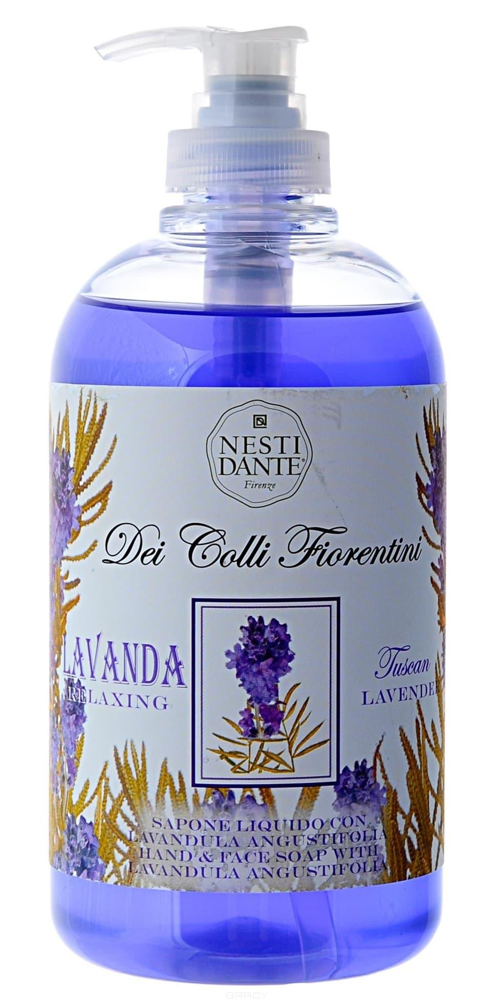 Nesti Dante, Жидкое мыло для рук Тосканская лаванда, 500 млDei Colli Fiorentini - цветочная линия<br><br>