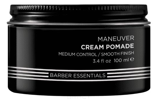 Помада-крем для укладки волос мужская Brews Manuever Cream Pomade, 100 мл