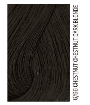 Купить Lakme, Перманентная крем-краска для волос без аммиака Chroma, 60 мл (32 тона) 6/66 Темный блондин коричневый яркий