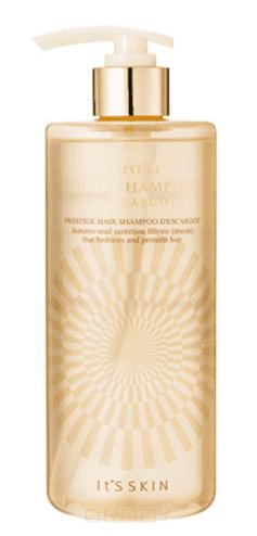 """Шампунь для волос с муцином """"Престиж Дескарго"""", восстанавливающий Prestige Hair Shampoo d'escargot, 405 мл jungle fever шампунь восстанавливающий hair rebuilder shampoo henna therapy 250мл"""