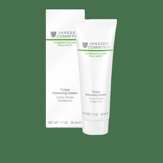 Janssen, Балансирующий крем с тональным эффектом Tinted Balancing Cream Oily Skin, 100 мл крем gigi balancing moisturizer for normal to oily skin