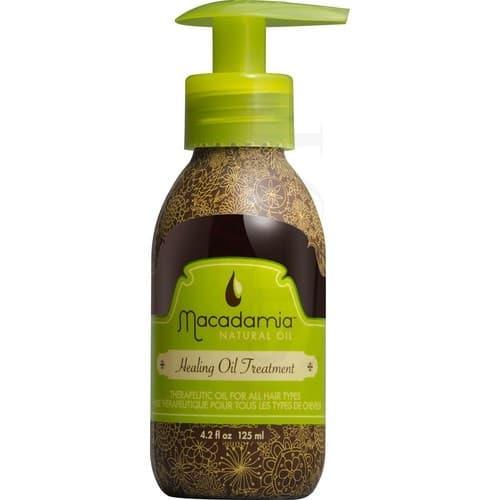 Уход восстанавливающий с маслом арганы и макадамии Healing Oil TreatmentПочему профессионалы советуют купить масло Macadamia Natural Oil? &#13;<br> &#13;<br>  Масло макадамии подходит для всех типов волос. Оно особенно необходимо сухим и поврежденным локонам.&#13;<br> &#13;<br>  Разглаживает кутикулу. Ваши пряди больше не напоминают солому   они гладкие, сияющие, послушные. Расчесывать их — одно удовольствие! &#13;<br> &#13;<br>  Масло макадамии для волос питает их, не утяжеляя, не создавая  жирного  эффекта.&#13;<br> &#13;<br>  Защищает пряди от агрессивного воздействия внешних факторов: палящего солнца, температурных перепадов, хлорированной, жесткой, морской воды и т.д. &#13;<br> &#13;<br>  Масло макадамии — находка для окрашенных волос. Используя его, Вы можете быть уверены: насыщенный цвет будет радовать долгое время. &#13;<br> &#13;<br>  Масло макадамии незаменимо для кудрявых локонов и волос после химической завивки. После его применения Ваши локоны не пушатся, а упругие завитки лежат идеально, как после салонной укладки. &#13;<br> &#13;<br>  Масло Macadamia Natural Oil легко использовать. Нанесите немного средства на влажные или сухие волосы, р...<br>