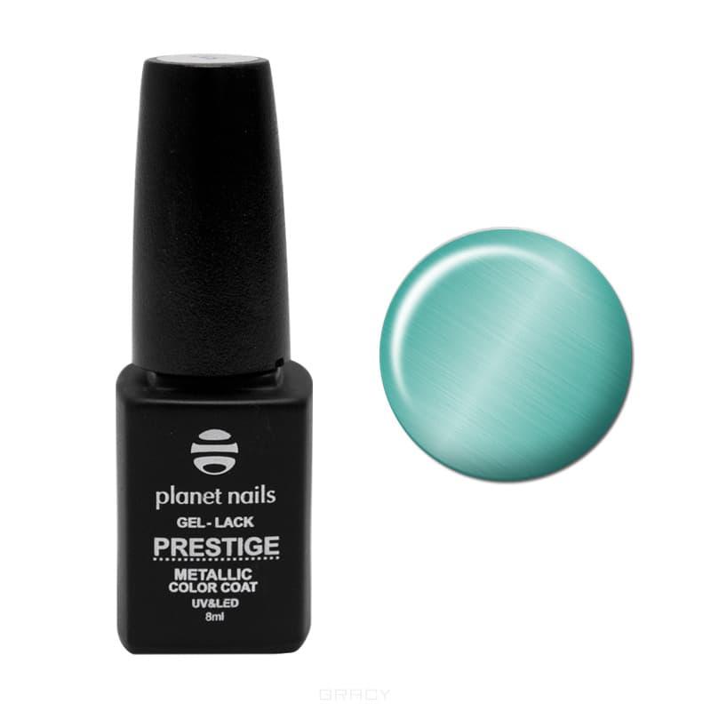 все цены на Planet Nails, Гель-лак витражный Prestige-Metallic Планета Нейлс, 8 мл (5 цветов), 8 мл, 104 онлайн