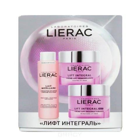 Lierac, Подарочный набор Lift Integral (молочко+крем дн.+крем ноч.), 15 мл+15 мл+30 мл крем для лица франция лиерак